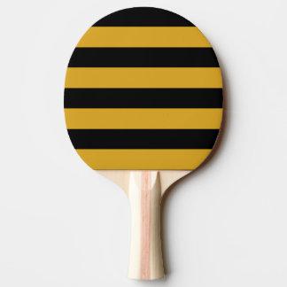 Raquete Para Ping Pong Pá do sibilo do sibilo - preto & Goldenrod