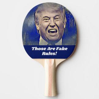 Raquete Para Ping Pong Regras engraçadas da falsificação da pá de Pong do