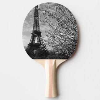 Raquete Para Ping-pong Torre Eiffel 1970 de France Paris do vintage