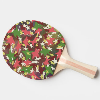 Raquete Para Tênis De Mesa Estrelas de roda coloridas bonitas