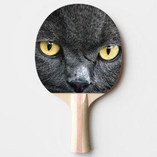 Raquete Para Tênis De Mesa Olhos de gato preto