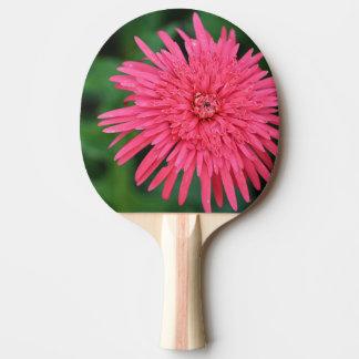 Raquete Para Tênis De Mesa Pá coral lindo de Pong do sibilo da flor