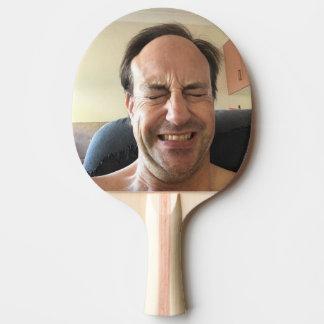 Raquete Para Tênis De Mesa Pá de Pong do sibilo para risos