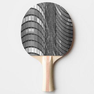 Raquete Para Tênis De Mesa Parede de cortina de aço e de vidro de moderno