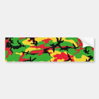 Rasta coloriu a camuflagem adesivo para carro