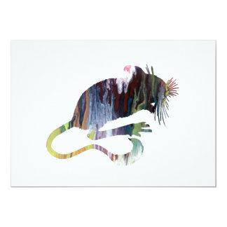 Rato Convite 12.7 X 17.78cm