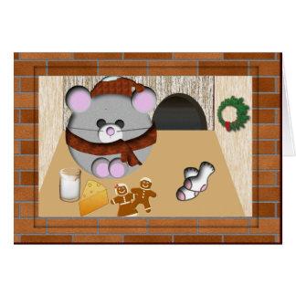 Rato de Chris Cartão Comemorativo