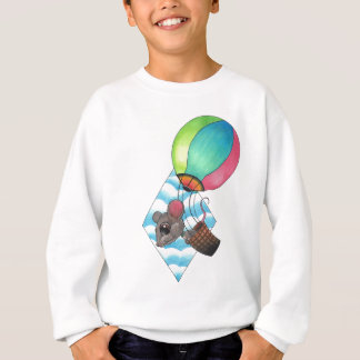 Rato do balão de ar quente t-shirts