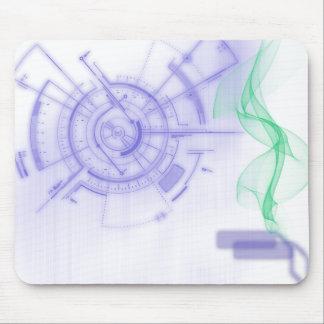 Rato do espaço mouse pad
