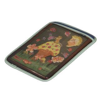 Rato em um cogumelo bolsas de iPad
