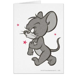 Rato resistente 1 de Tom e de Jerry Cartão Comemorativo