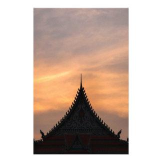 Real, arquitetura do palácio, Cambodia Papelaria