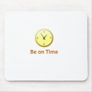 realize-se no tempo mouse pad