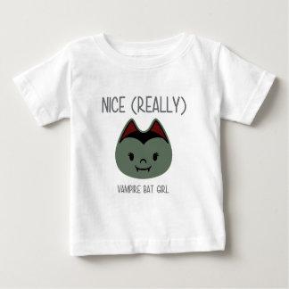 (Realmente) - menina agradável do bastão de Camisetas