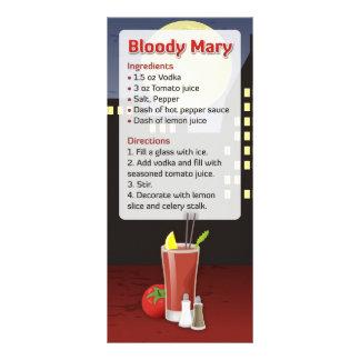 Receita do Bloody Mary Panfleto