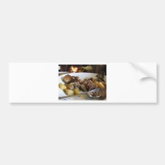 Receita típica de Tuscan da carne de porco e de Adesivo Para Carro