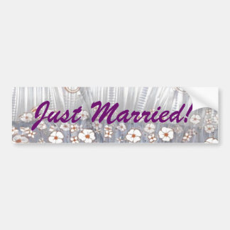 Recem casados! adesivo para carro