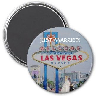 RECEM CASADOS! No botão fabuloso de Las Vegas Imã