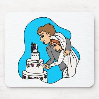 Recepção de casamento 43 mousepad