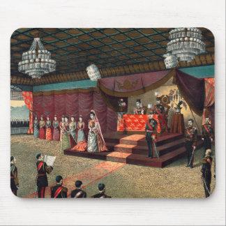 Recepção de casamento do príncipe herdeiro mouse pad