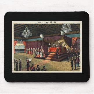 Recepção de casamento do príncipe herdeiro Yoshihi Mouse Pad