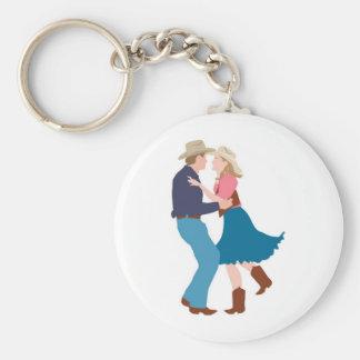 Recepção de casamento ocidental ocasional chaveiro