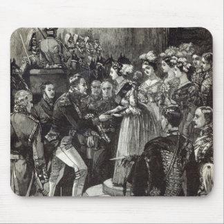 Recepção de Louis Philippe no castelo de Windsor Mouse Pad
