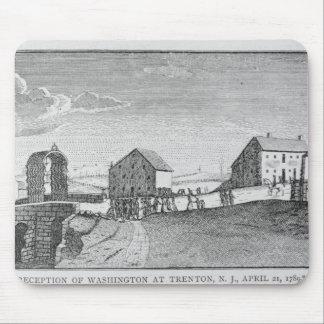 Recepção de Washington em Trenton, New-jersey Mouse Pad