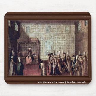 Recepção do embaixador francês (1699) por Mour Mouse Pad