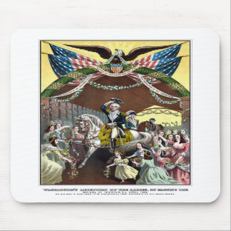 Recepção do general Washington em Trenton Mousepad