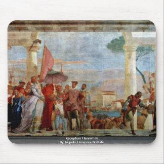 Recepção Henrich Iii por Tiepolo Giovanni Battista Mouse Pad