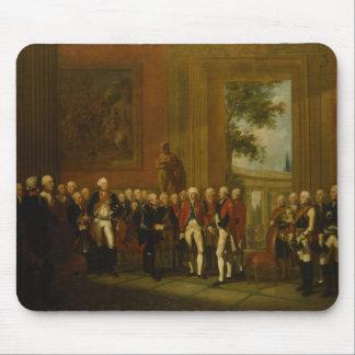 Recepção para o duque de York em Sanssouci Mouse Pad