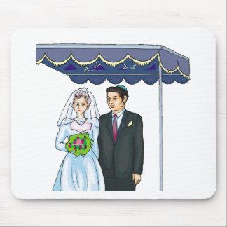 Recepções de casamento 28 mousepad