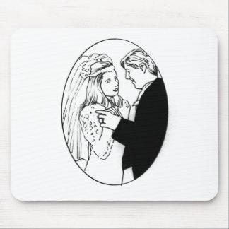 Recepções de casamento 49 mousepad