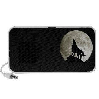 recinto doodle lobo caixinha de som para iPhone