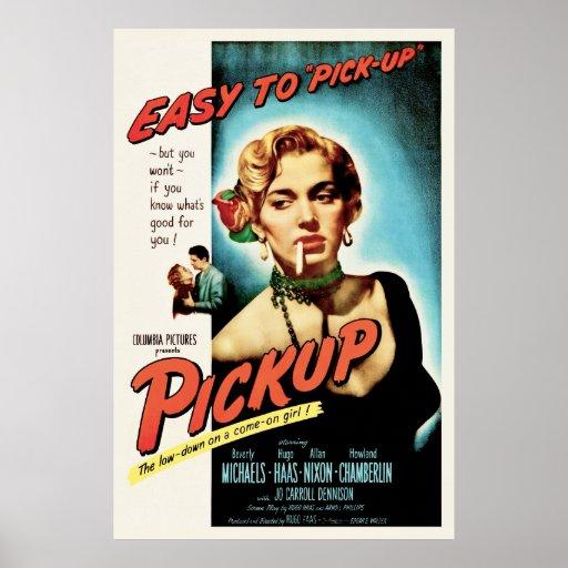 Recolhimento - cartaz cinematográfico Noir do film Poster
