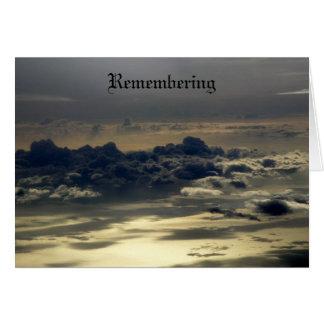 Recordando II Cartão Comemorativo