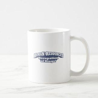 Recursos humanos/reis caneca de café