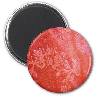 Red Floral Elegance  Magnet Magnet