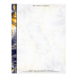 Rede da ponte - arte do Fractal de Mandelbrot Papel Timbrado