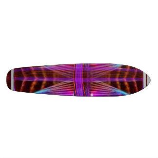 Rede roxa da Web: Supersónico sobrecarregado Shape De Skate 19,7cm