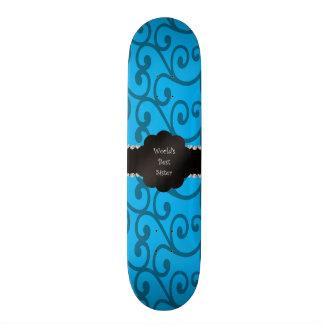 Redemoinhos do azul da irmã do mundo os melhores shape de skate 18,1cm