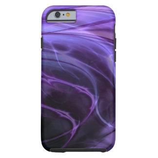 Redemoinhos roxos capa para iPhone 6 tough