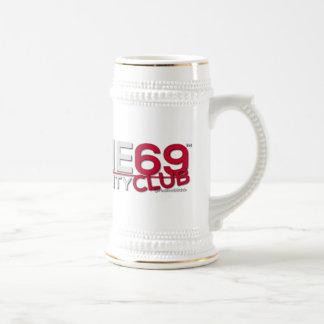 redline69club caneca de cerveja de 650 ml