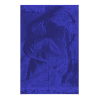 Reflexões azuis papelaria