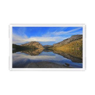 Reflexões no lago Tenaya