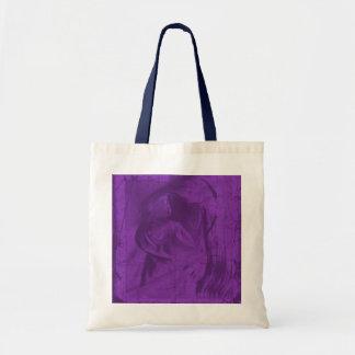 Reflexões roxas em natural e no marinho bolsas para compras