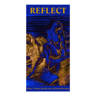 """""""REFLITA"""" cartões de fotos feitos sob encomenda Cartão Com Foto"""