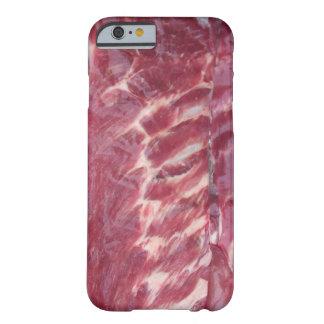 Reforços de carne de porco capa barely there para iPhone 6