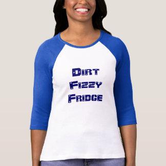 Refrigerador efervescente da sujeira t-shirts